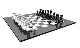 3D chess set Stock Photo