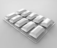 3d chewing gum Royalty Free Stock Images