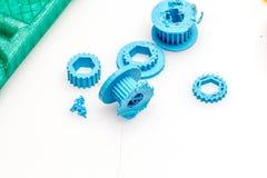 3D choses imprimables, changement d'échange de construction de colect d'impression Images stock