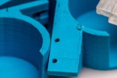 3D choses imprimables, changement d'échange de construction de colect d'impression Photographie stock libre de droits