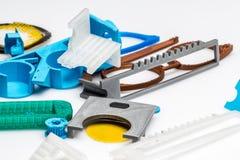 3D choses imprimables, changement d'échange de construction de colect d'impression Photo libre de droits