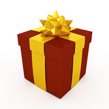 3d Christmas Present -  Royalty Free Stock Photography