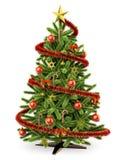 3D Christmas tree Stock Image