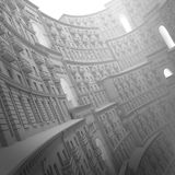 3d ściany art deco, klasycyzm Obrazy Stock