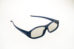 3D Cinema Glasses - Blue Royalty Free Stock Photo