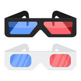 3d cinema glasses Royalty Free Stock Photo