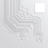 3d circuit board abstract backgrounds Stock Photos