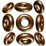 3D cirkel/ring Royalty-vrije Stock Fotografie