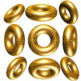 3d cirkels Royalty-vrije Stock Foto's