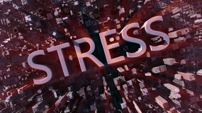 Stress City Stock Photo