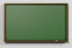 3D class blackboard Royalty Free Stock Image
