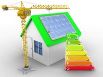 3d clean energy Royalty Free Stock Images