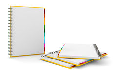 3d clipboard with blank pages Royalty Free Stock Photography