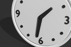 3d clock Royalty Free Stock Photos
