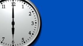 3D Clock Ticking Fast (HD Loop) stock video footage