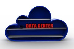 3d cloud data center Royalty Free Stock Photography