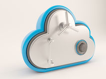 3D Cloud Drive Icon Royalty Free Stock Images