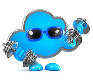 3d Cloud is fit Stock Photos