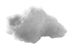 3D cloud Stock Images