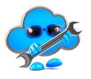 3d Cloud repair Stock Image