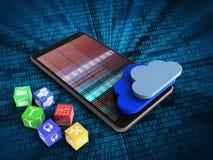 3d clouds Stock Photos