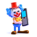 3d Clown mobile Stock Photos