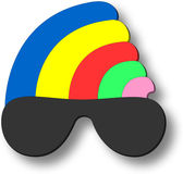 3d Clubber Icon Royalty Free Stock Photo