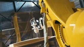 3D CNC гравер Машина механической обработки Деревянный высекать сток-видео