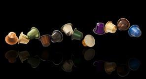 3d coffee capsule Stock Photo