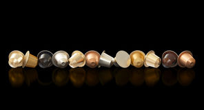 3d coffee capsule Royalty Free Stock Images