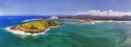 D Coffs Harbour von der Seewanne stockfotografie