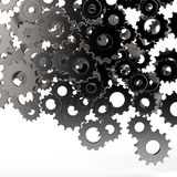 3d cog gear on white background Royalty Free Stock Image
