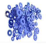 3d cog gear on white background Royalty Free Stock Photography