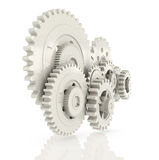 3D cogwheel Stock Photography