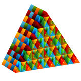 3d Collective Pyramid Stock Image