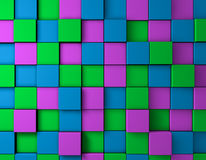 3D color texture. 3d texture in the colors of the floor Royalty Free Stock Photography