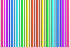 3d colored bars. 3d rendering of an abstract composition with a lot of colored bars Stock Photos