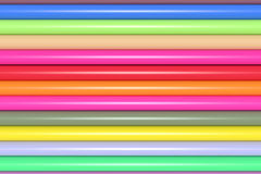 3d colored bars. 3d rendering of an abstract composition with a lot of colored bars Royalty Free Stock Image
