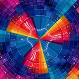3d colorful abstract background design.  stock illustration