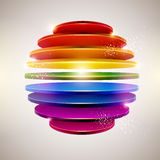 3D colorful ball Stock Photos