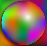 3d colorful ball background Stock Photos