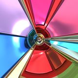 3d Colorful design abstract background Royalty Free Stock Photos