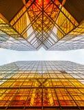 d'or commercial de construction Images stock