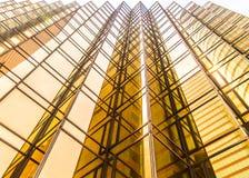 d'or commercial de construction Image libre de droits