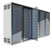 3D Communications rack Stock Image