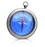 3d compasses pointing to business Stock Photos