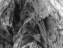 3d composition fractal Stock Photo
