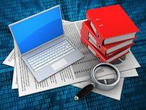 3d computer Royalty-vrije Stock Afbeeldingen
