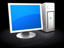 3d computer Stock Photo