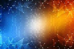 2d conceito da comunidade da rede da ilustração Meios mistos Foto de Stock